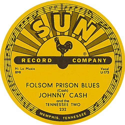 Sun Records 78RPM Sticker