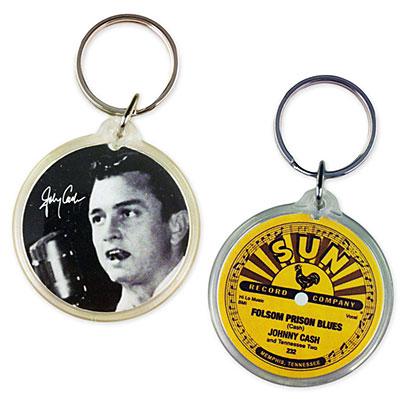 Folsom Prison Photo Key Chain