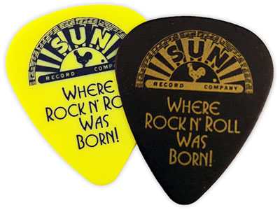 Sun Guitar Pick