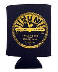 Johnny Cash Sun I Walk The Line Pocket Can Cooler